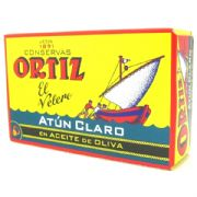 Ortiz Atun Claro Fillets (Yellowfin Tuna) in Olive Oil - 112g